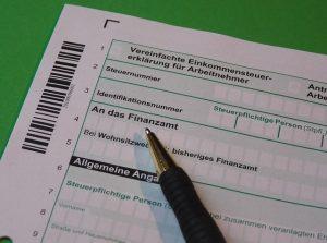Fragebogen zur steuerlichen Erfassung