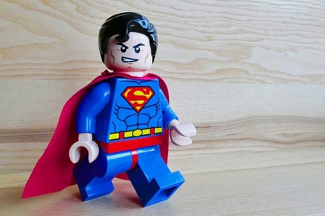 Stark wie ein Super Mann
